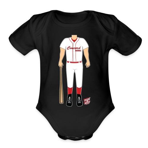 Corey CALL - Organic Short Sleeve Baby Bodysuit