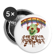 Buttons ~ Large Buttons ~ Happy Clown Buttons!