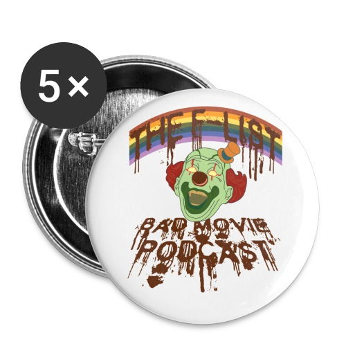 Happy Clown Buttons! - Large Buttons