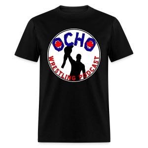 Ocho Wrestling Podcast (white background) - Men's - Men's T-Shirt