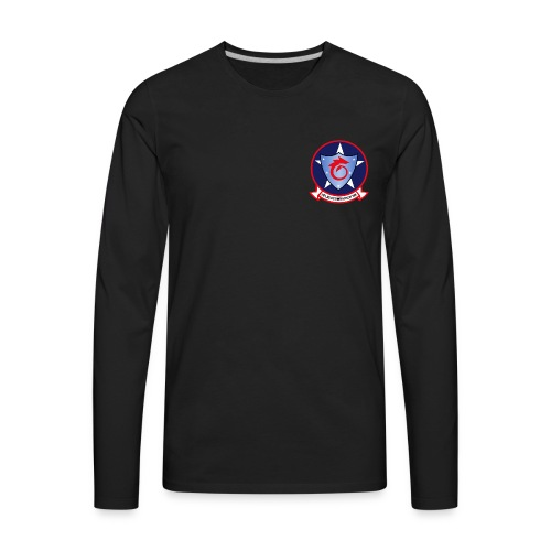 HSC-6 INDIANS LONG SLEEVE - Men's Premium Long Sleeve T-Shirt