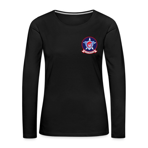 HSC-6 INDIANS WOMENS LONG SLEEVE - Women's Premium Long Sleeve T-Shirt