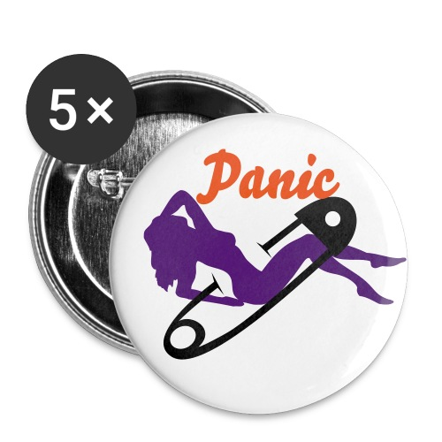 Panic pin-up - Small Buttons