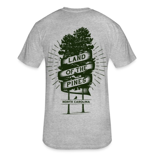 Land of the Pines T-Shirt - Fitted Cotton/Poly T-Shirt by Next Level