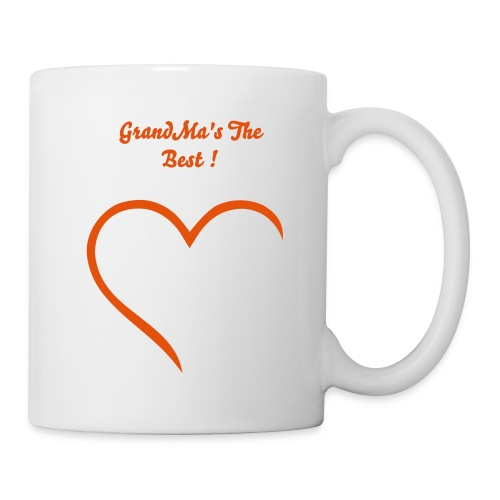 Coffee/Tea Mug - Love,Hearts,Grandma
