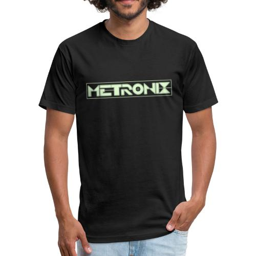 Metronix Glow in the Dark T-shirt - Fitted Cotton/Poly T-Shirt by Next Level
