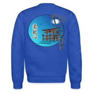 Men's Personalized Ju Nan Shin Crew Neck Sweatshirt - Logo on back - Crewneck Sweatshirt