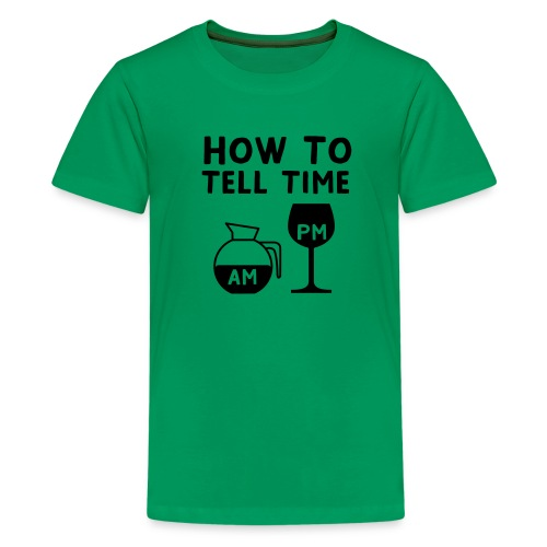 How to tell time - Kids' Premium T-Shirt