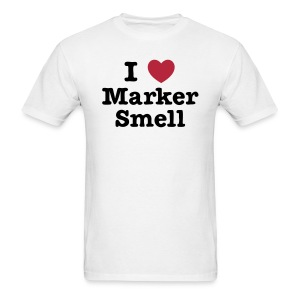 I *heart* Marker Smell - Men's T-Shirt