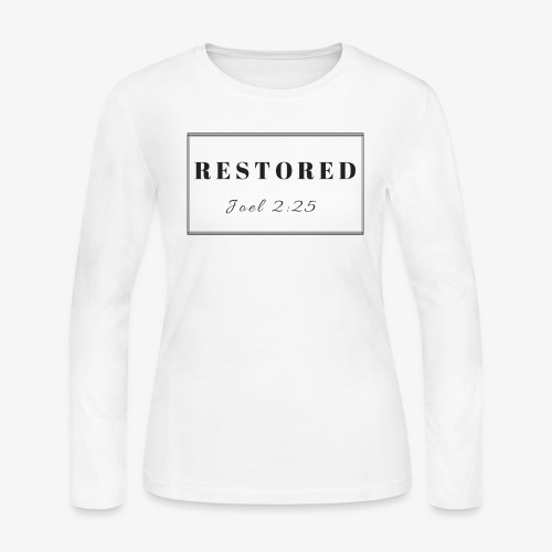 Restoration Joel 2:25 - Women's Long Sleeve Jersey T-Shirt
