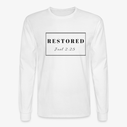 Men's Restoration Joel 2:25 - Men's Long Sleeve T-Shirt