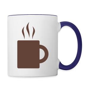 Tea Cup - Contrast Coffee Mug