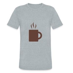 Tea Cup - Unisex Tri-Blend T-Shirt