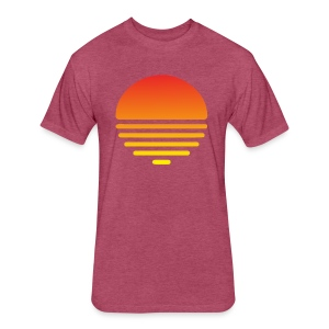 Summer - Fitted Cotton/Poly T-Shirt by Next Level