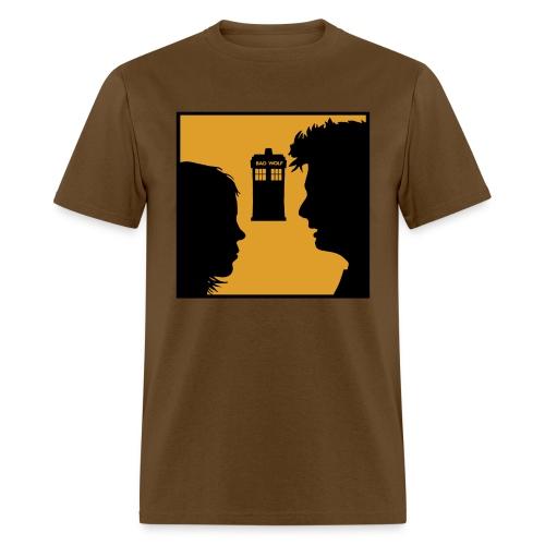 Rose, the Bad Wolf - Men's T-Shirt