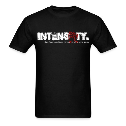 Ultimate Warrior Intensity Shirt Designed by Warrior - Men's T-Shirt