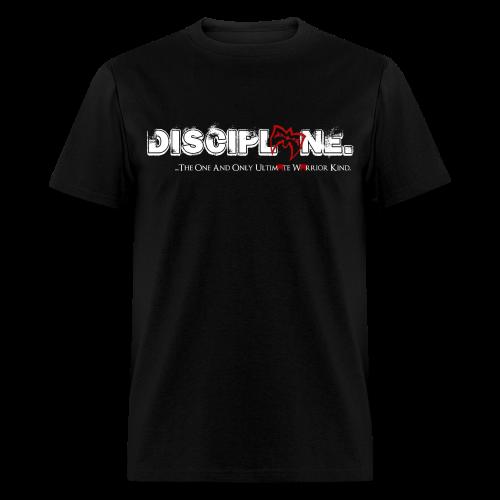 Ultimate Warrior Discipline Shirt Designed by Warrior - Men's T-Shirt