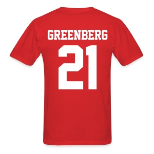 GREENBERG 21 - Tee (XL Logo, NBL) - Men's T-Shirt