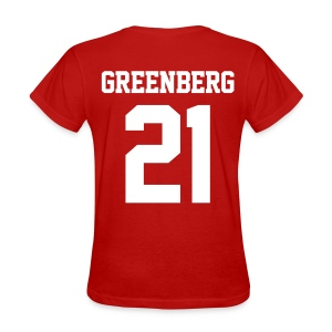 GREENBERG 21 - Tee (XL Logo, NBL) - Women's T-Shirt