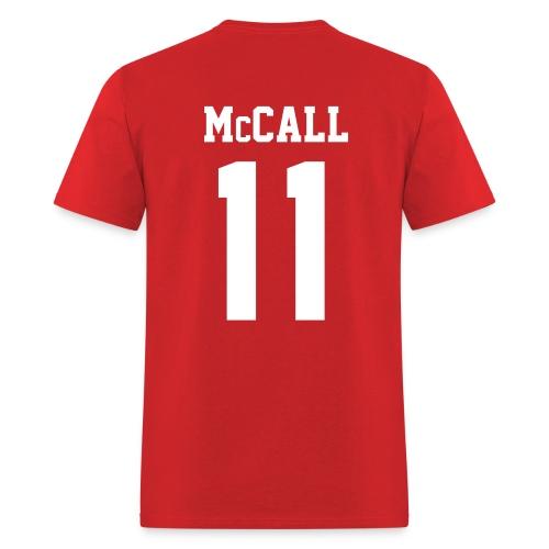 McCALL 11 - Tee (XL Logo, NBL) - Men's T-Shirt