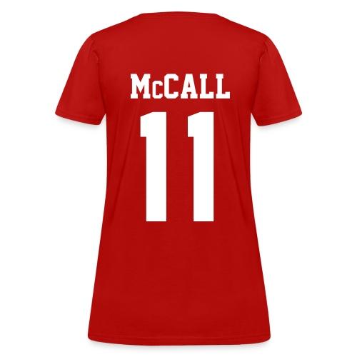 McCALL 11 - Tee (XL Logo, NBL) - Women's T-Shirt