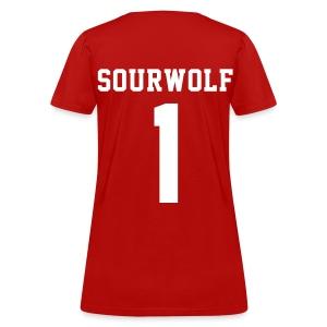 SOURWOLF 1 - Tee (XL Logo, NBL) - Women's T-Shirt