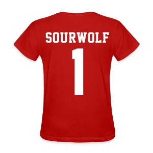 SOURWOLF 1 - Tee (XL Logo, NBL) - Women's T-Shirt