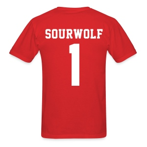 SOURWOLF 1 - Tee (XL Logo, NBL) - Men's T-Shirt