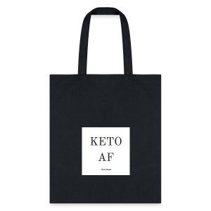 KetoAF Reusable Grocery Bag - Tote Bag