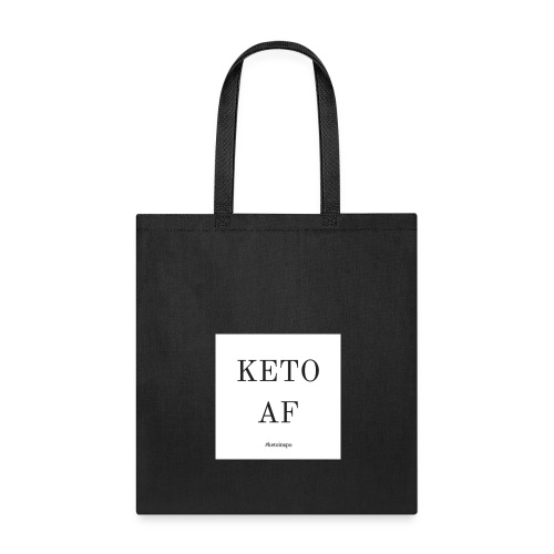 KetoAF Reusable Grocery Bag - Tote Bag