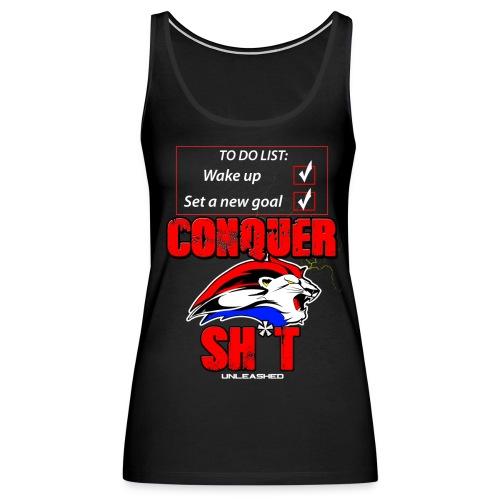 To Do List: Conquer! - Women's Premium Tank Top