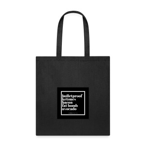Keto Staples Reusable Grocery Bag - Tote Bag