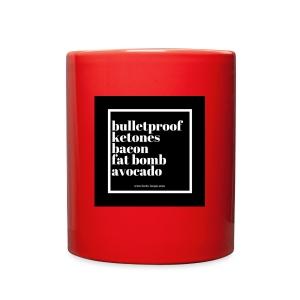 Keto Staples - Full Color Mug