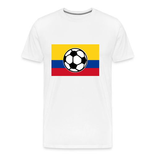 Soccer Colombia Flag