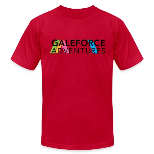 GALEFORCE ADVENTURES Light Blue - Men's Fine Jersey T-Shirt