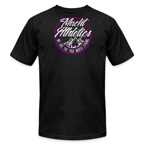 Purple Meet Shirt - Men's Fine Jersey T-Shirt