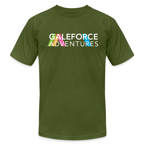 GALEFORCE ADVENTURES Minimal Forest T - Men's Fine Jersey T-Shirt