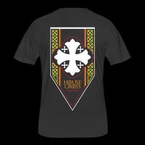 Scarlet Dove House Cross 2018 Commemorative Men's T-Shirt - Men's 50/50 T-Shirt