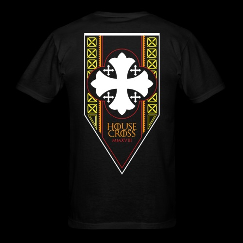 Scarlet Dove House Cross 2018 Commemorative Men's T-Shirt (Big and Tall) - Men's T-Shirt