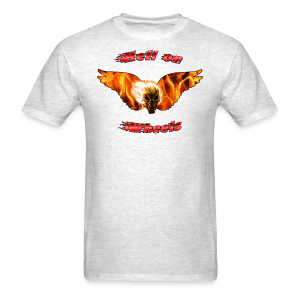 Mens T Hell on Wheels (Front) - Men's T-Shirt