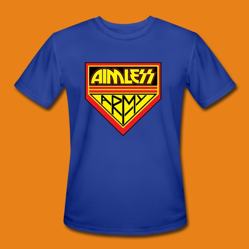 Aimless Army - Men's 100% Poly - Men's Moisture Wicking Performance T-Shirt