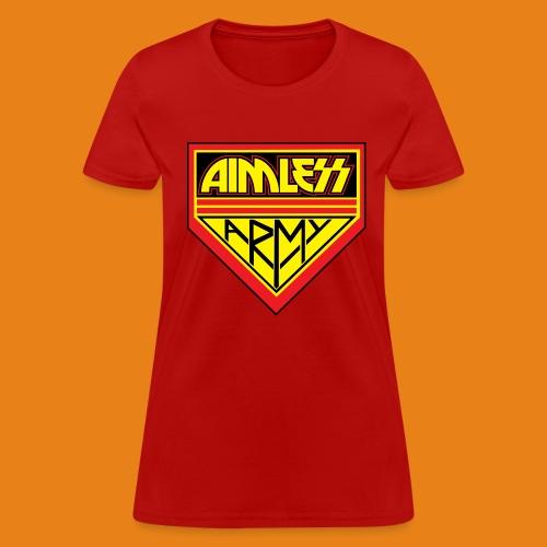 Aimless Army - Women's Cotton - Women's T-Shirt