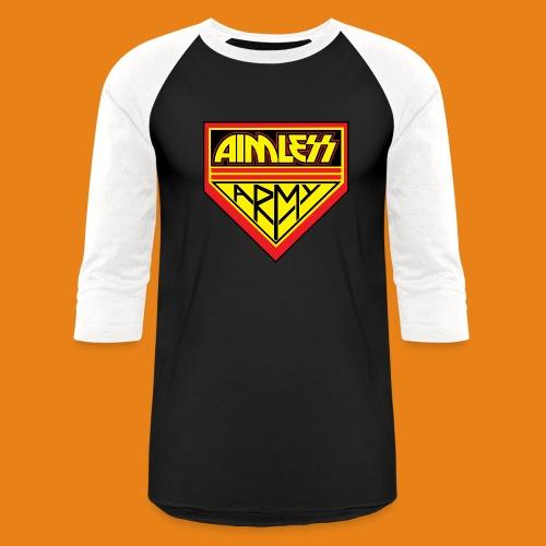 Aimless Army - Men's Baseball Shirt Cotton - Baseball T-Shirt