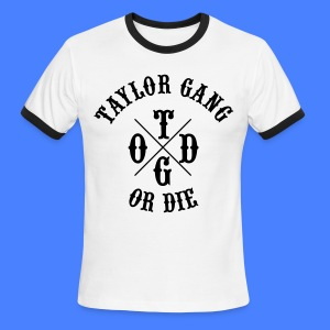 Taylor Gang or Die T-Shirts - stayflyclothing.com - Men's Ringer T-Shirt