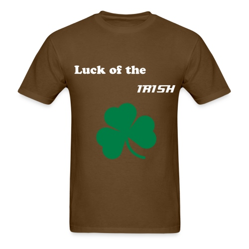 Luck of the Irish shirt - Men's T-Shirt