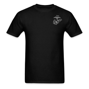 VMM-166 Jager with EGA - Men's T-Shirt