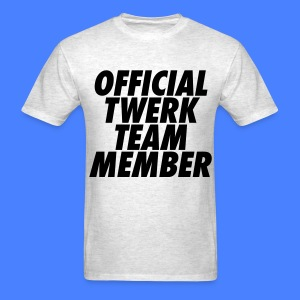 Official Twerk Team Member T-Shirts - Men's T-Shirt
