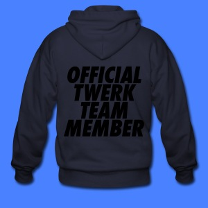 Official Twerk Team Member Zip Hoodies/Jackets - Men's Zip Hoodie