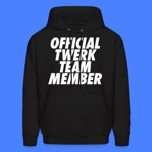 Official Twerk Team Member Hoodies - Men's Hoodie