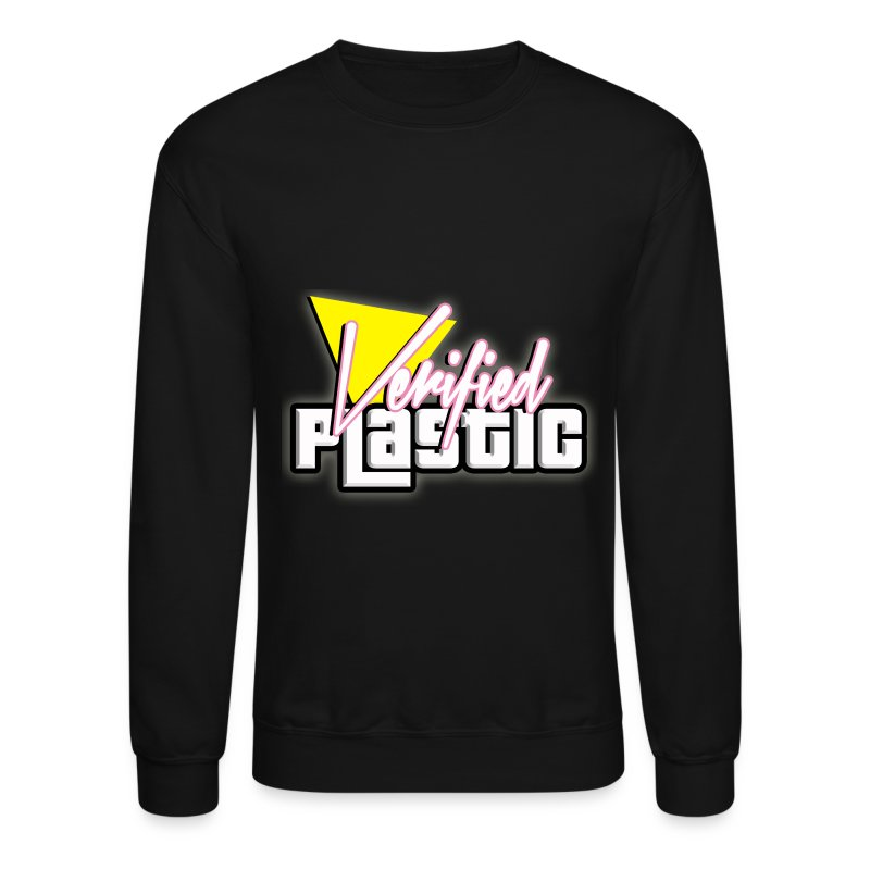 Signature Verified Plastic  Crewneck Sweatshirt - Crewneck Sweatshirt